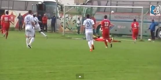VIDEO / Gol 1-0 Nicandro Breeveld, Pandurii – Velez Mostar