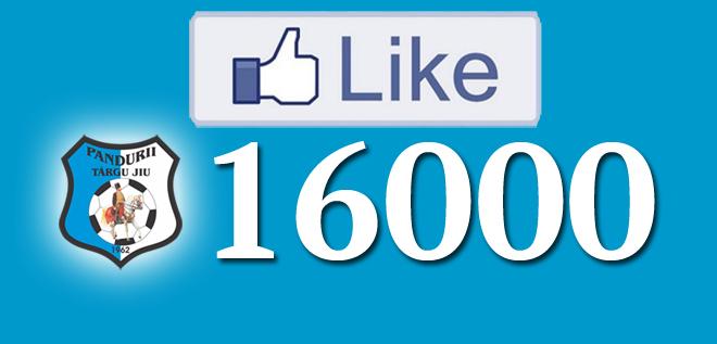 Suntem 16.000 pe facebook!