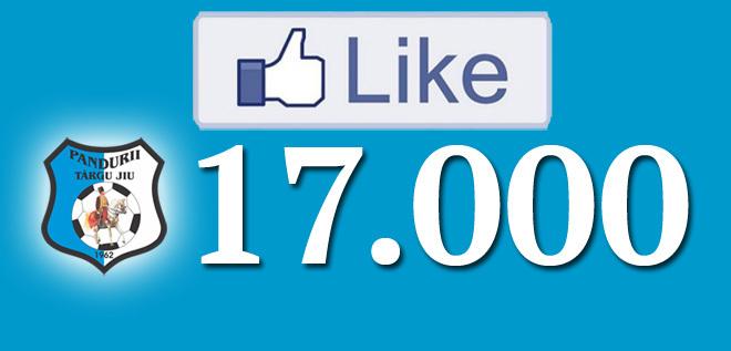 Suntem 17.000 de fani pe facebook!