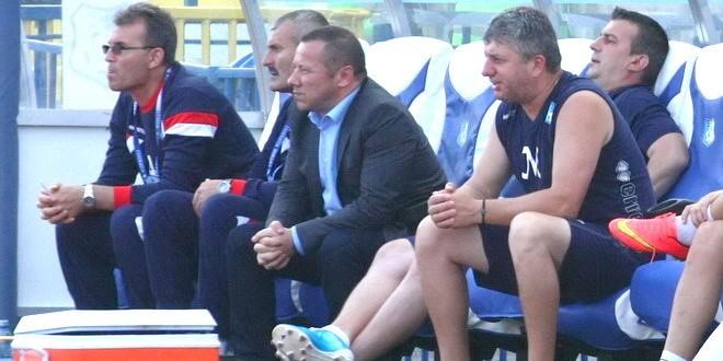 Preşedintele Mihai Prunariu a stat în premieră pe banca echipei Pandurii la meciul cu FC Viitorul