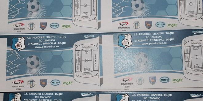 Biletele pentru meciul cu CS U Craiova pot fi achiziţionate şi luni între orele 9 şi 18