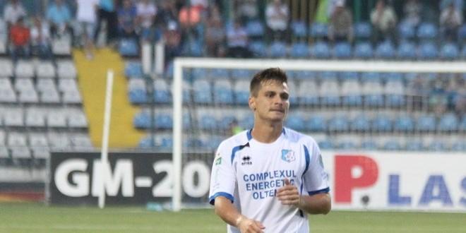 Cornel Predescu a revenit pe teren după  un an de zile la meciul cu FC Viitorul