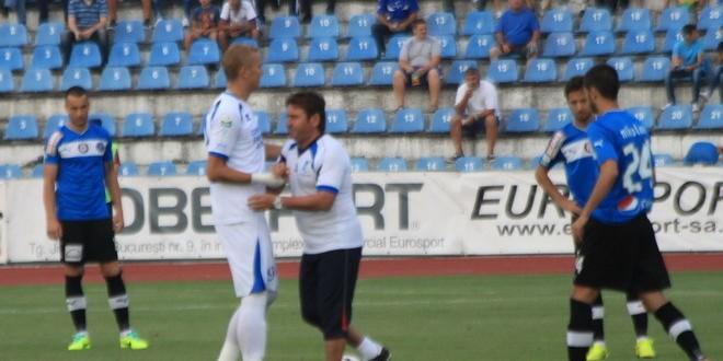 Dorian Gugu a dat lovitura de începere la meciul cu FC Viitorul