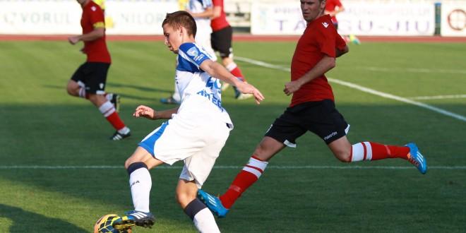Pandurii II Târgu Jiu a pierdut cu scorul de 0-2 meciul cu CS Naţional Sebiş