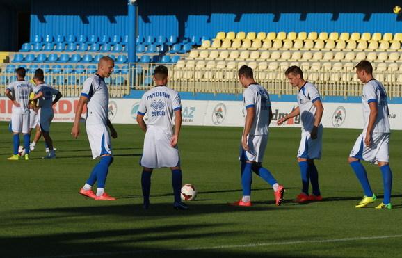 Pandurii Târgu-Jiu va juca marţi un meci amical cu formaţia de liga a treia SCM Argeşul Piteşti