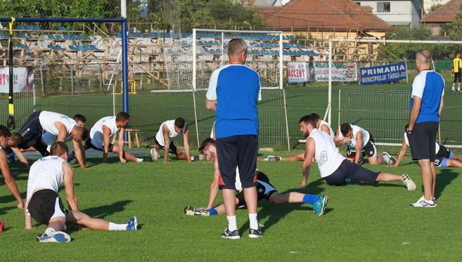 Jucătorii de la Pandurii vor reveni mâine la antrenamente la Târgu-Jiu