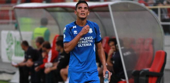 Erico da Silva poate juca în meciul de luni cu Oţelul Galaţi