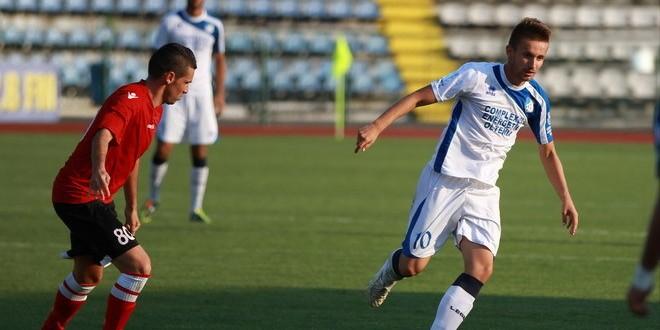 Meci bun şi rezultat pe măsură, Pandurii II Târgu Jiu – FC Hunedoara 2-0