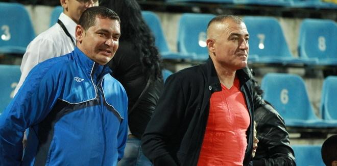 Eliminarea din meciul cu Astra nu i-a permis antrenorului Petre Grigoraş să ia loc pe banca echipei la meciul cu Oţelul Galaţi