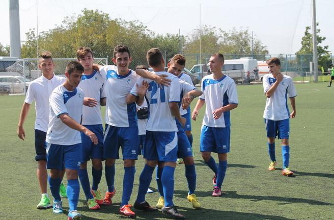 Juniorii A s-au impus cu scorul de 1-0 pe terenul celor de la CS U Craiova