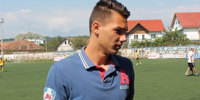 Portarul Răzvan Negrilă a fost  convocat din nou la echipa naţională Under 19