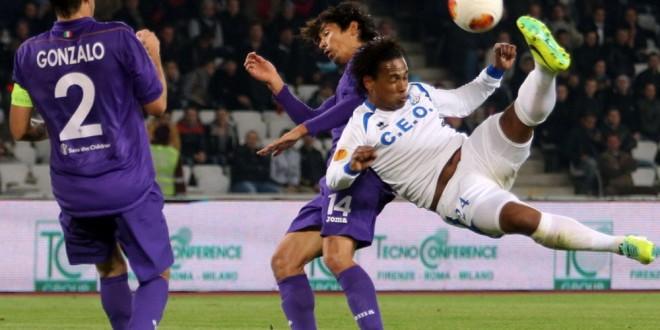 Se împlineşte un an de la golul marcat de Eric în poarta Fiorentinei, suporterii pot vota acest gol pe site-ul UEFA