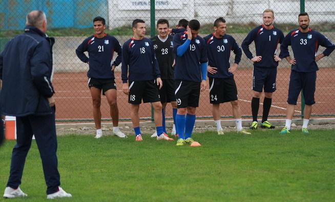 Pandurii vor relua de mâine antrenamentele la Târgu Jiu pentru meciul cu FC Botoşani