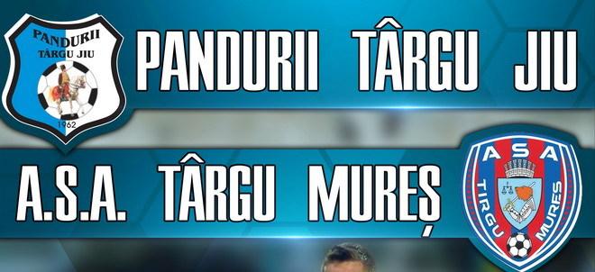 Preţurile biletelor pentru meciul Pandurii Târgu Jiu – ASA Târgu Mureş din etapa a 11-a a Ligii I