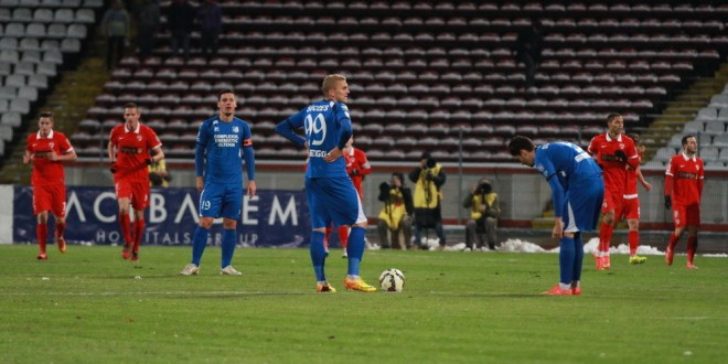 Dinamo Bucureşti  – Pandurii Târgu Jiu, scor 3-2, în etapa a XII-a a Ligii I