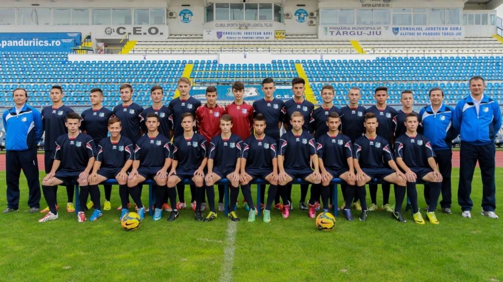 Juniori A, grupa 1996-1997, antrenori Cristian Popescu si Gabriel Rascol