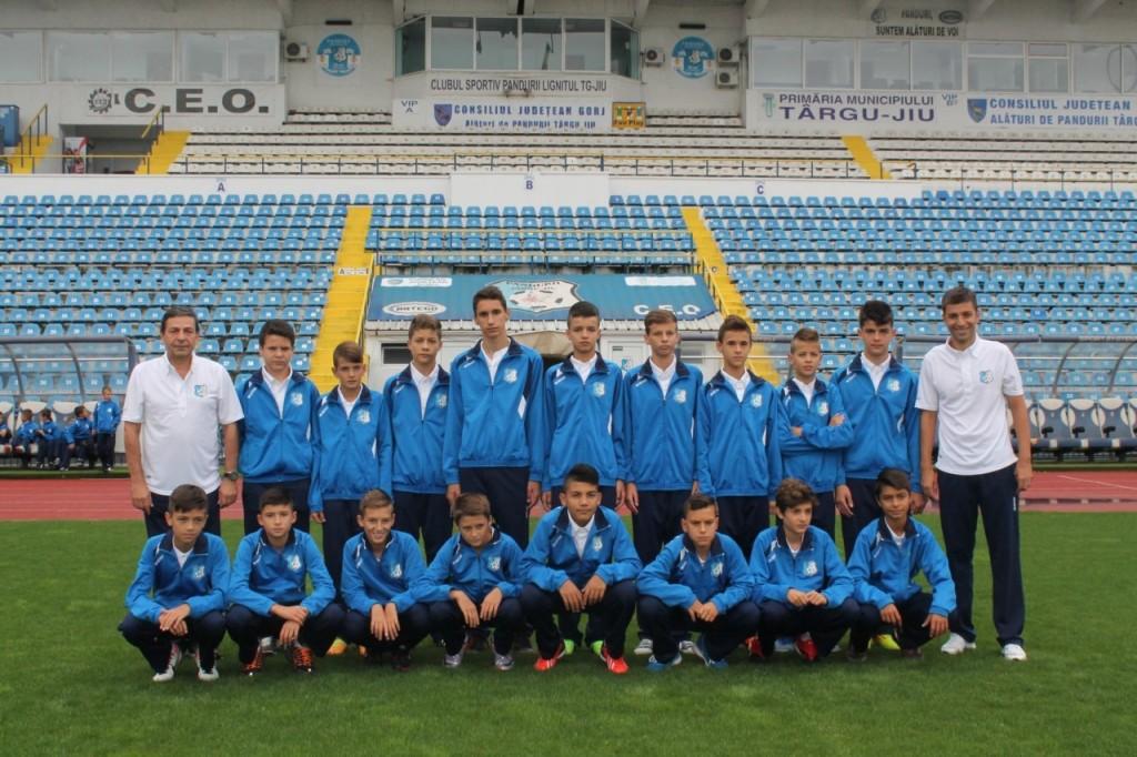 Juniori C, Grupa 2001, antrenori Florin Popete si Mihai Dodoi
