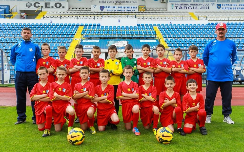 Juniori E, Grupa 2004, antrenori Florin Bejinaru si Adrian Popescu