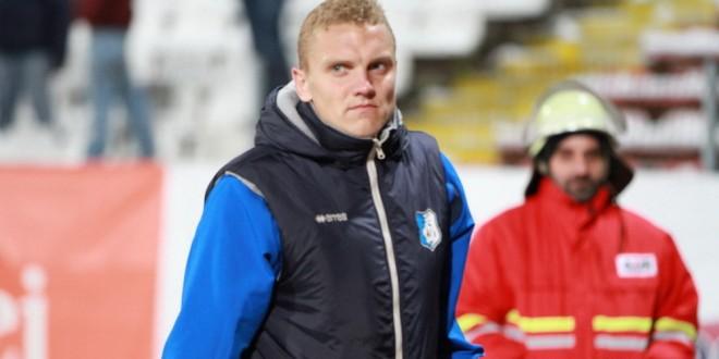 Deivydas Matulevicius este accidentat şi nu va putea evolua la meciul din Cupa României de la Galaţi