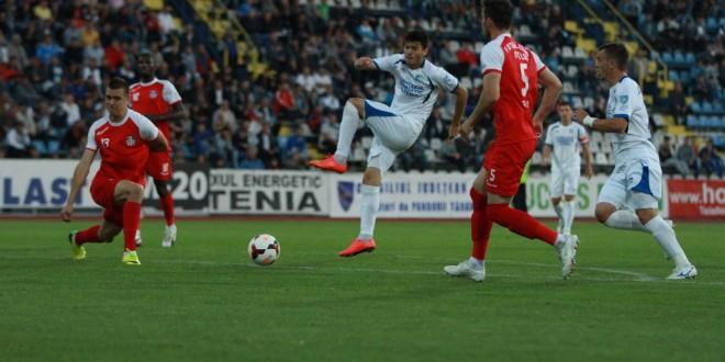 Pandurii au învins Oţelul cu 4-0 în campionat şi doresc o reeditare a victoriei şi în Cupa României