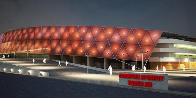 Noul stadion Municipal din Târgu Jiu va avea o capacitate de 12 386 de locuri