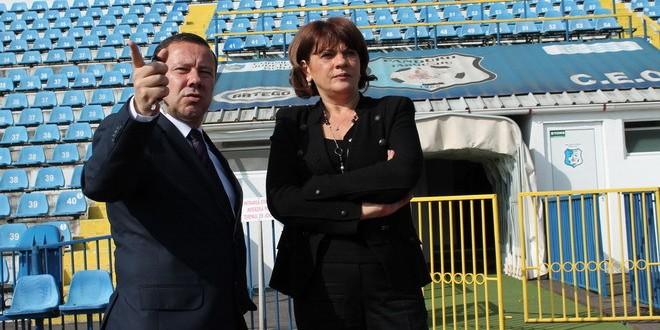 """Carmen Tocală: """"Proiectul de modernizare a Complexului Sportiv Municipal va demara la începutul anului viitor"""""""