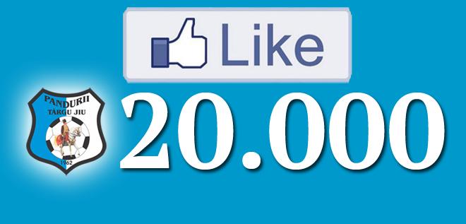 Suntem 20.000 de fani pe facebook!