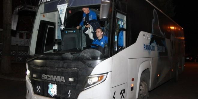 """U Cluj şi Pandurii Târgu Jiu au ajuns pe """"Cluj Arena"""". Duelul pentru un loc în semifinalele Cupei începe la ora 20:30"""