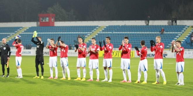 ETAPA A 16-A /  Pandurii Târgu Jiu a pierdut meciul cu CSMS Iaşi, scor 3-0, în etapa a 16-a din Liga I