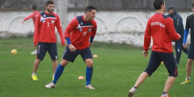 Pandurii se pregătesc pentru meciul din etapa a 15-a cu FC Botoşani