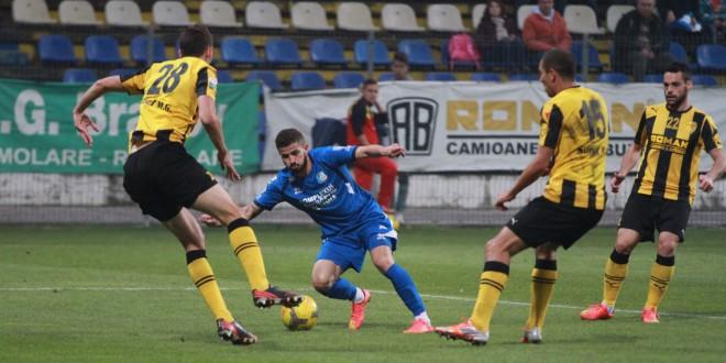 Pandurii Târgu Jiu – FC Braşov se va juca vineri, 8 mai, de la ora 18:30