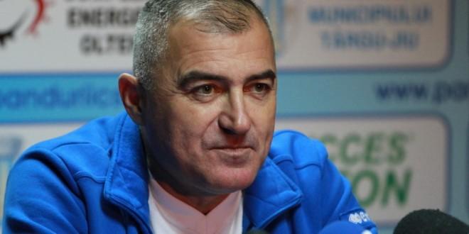 """Petre Grigoraş: """"Ar fi o mare realizare dacă am câştiga cele două meciuri de pe teren propriu pe care le jucăm pe final de tur"""""""