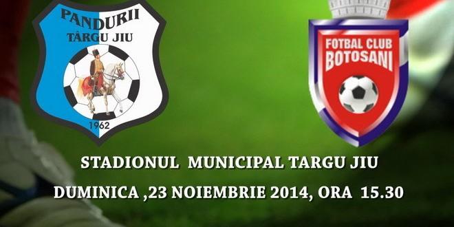 PANDURII TV / MECI PANDURII TÂRGU JIU – FC BOTOŞANI