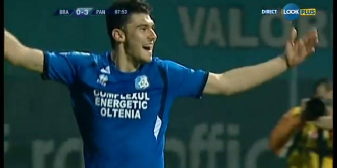 VIDEO / MIHAI ROMAN A RIDICAT SCORUL LA 3-0 LA BRAŞOV