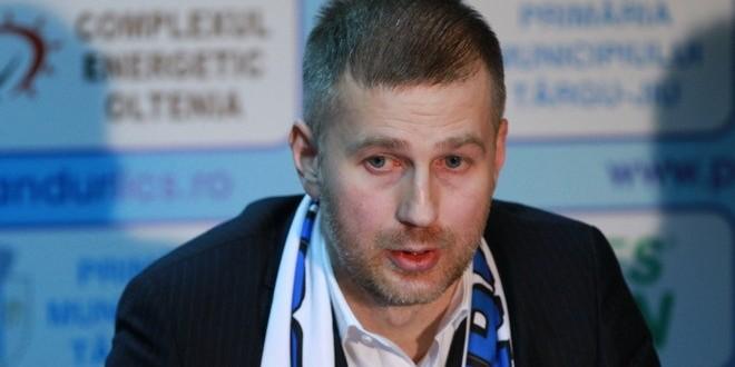 Edi Iordănescu a semnat un contract pe un an şi jumătate cu Pandurii Târgu Jiu