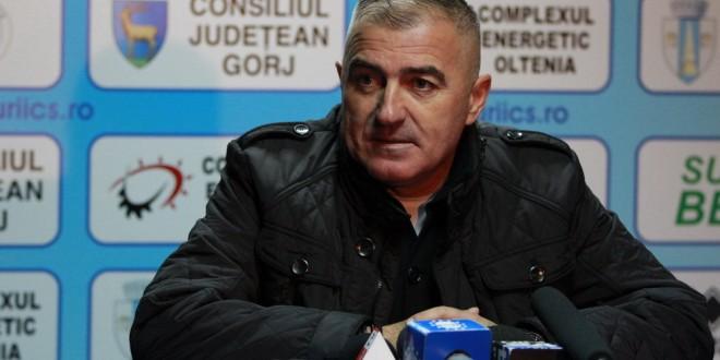 PANDURII TV / CONFERINŢĂ DE PRESĂ PETRE GRIGORAŞ MECI PANDURII RAPID 0612