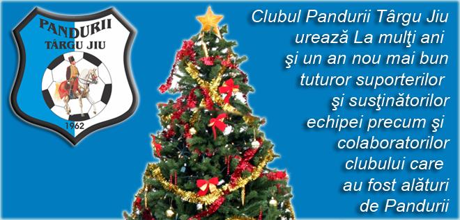 Clubul Pandurii Lignitul Târgu Jiu vă urează La mulţi ani!