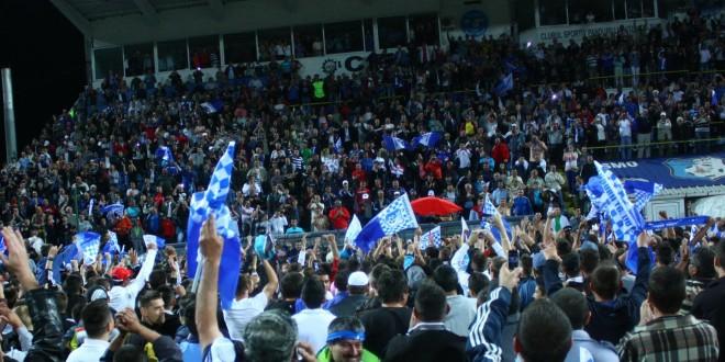 Pandurii vor să îşi aducă suporterii la stadion în număr cât mai mare în anul 2015