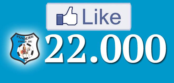 Suntem 22.000 de fani pe facebook!