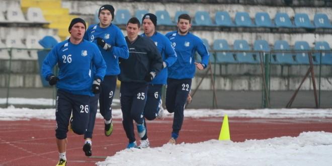 Pandurii au efectuat astăzi o serie de teste fizice sub comanda lui Edi Iordănescu