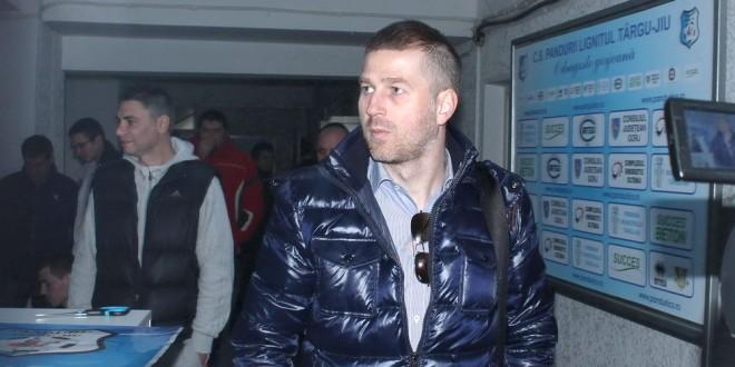 Antrenorul Edi Iordănescu a sosit astăzi la Târgu Jiu pentru a stabili ultimele detalii înaintea începerii pregătirii