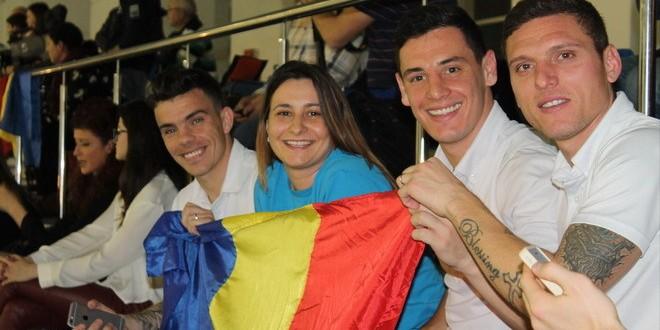 Pandurii au susţinut naţionala României de polo !