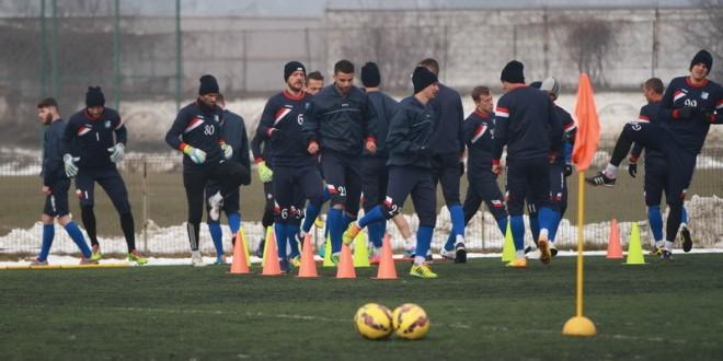 Pandurii, meci de pregătire cu echipa secundă a clubului