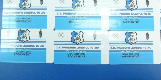Clubul Pandurii  Târgu Jiu va pune în vânzare abonamente pentru returul campionatului