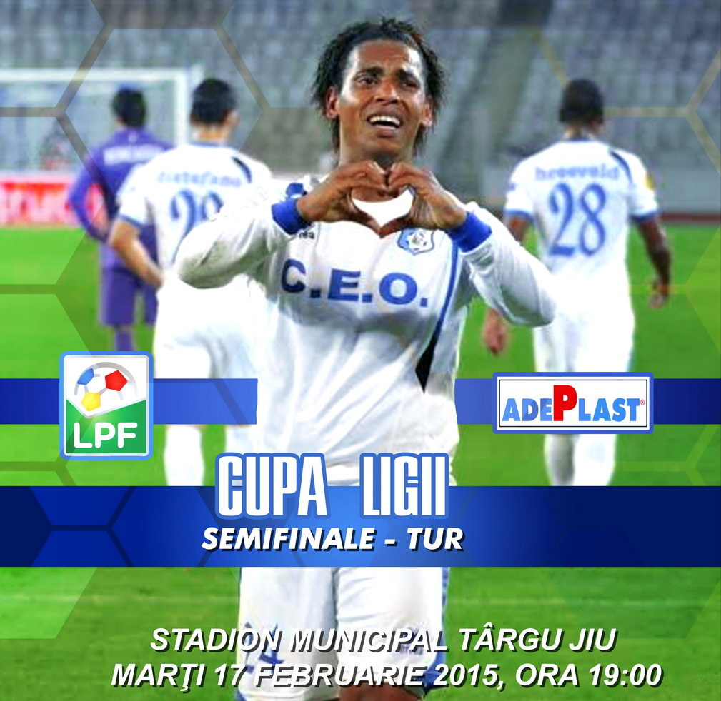 Afis Pandurii Dinamo CUPA LIGII 3