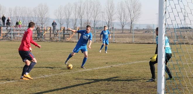 Andrei Cordoş a evoluat 45 de minute în testul cu echipa a doua