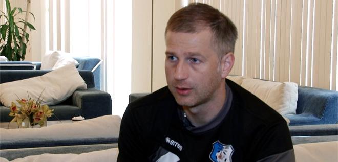 Pandurii TV / Interviu cu Edi Iordănescu antrenor principal Pandurii Targu Jiu