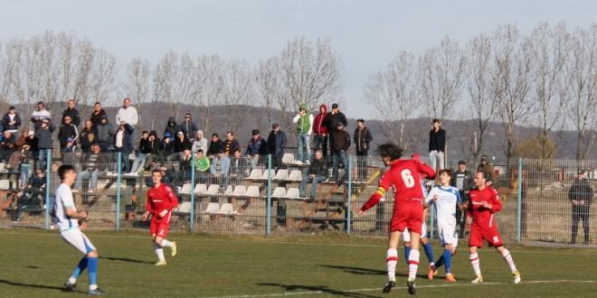 Pandurii 2 Târgu Jiu a remizat cu Minerul Motru, scor 2-2