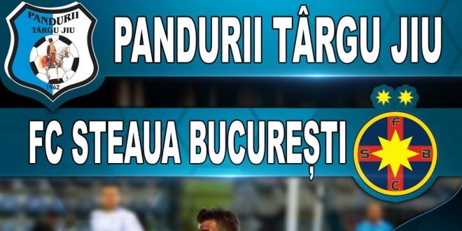 Biletele pentru meciul dintre Pandurii şi FC Steaua SA Bucureşti pot fi procurate începând de vineri