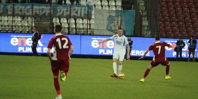 LIVE SCORE / Pandurii a majorat scorul la 4-0 prin reuşita lui Shalaj